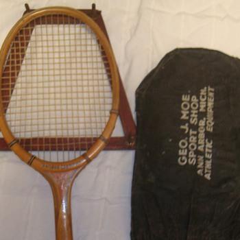 Tennis Racquet form Geo J Moe's Sport Shop - Sporting Goods