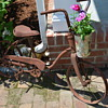 Old Bicycles Never Die - They Find New Life in the Garden!