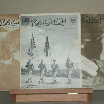 Bakshish WW2 India News Publications - Military and Wartime