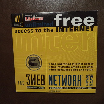 the 3WEB CD ROM ... no connection charges then  :)