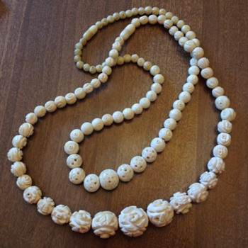 Ivory necklaces - Costume Jewelry
