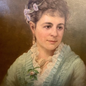 What Is This Victorian Portrait Saying? Help Decipher! - Fine Art