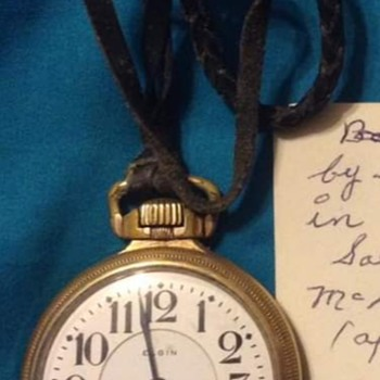 Grandfather's 1922 Elgin Pocket Watch - Pocket Watches