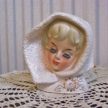 Judy's Head Vase - Pottery