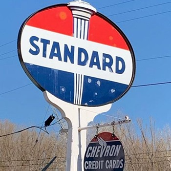Standard Gas Sign - Signs
