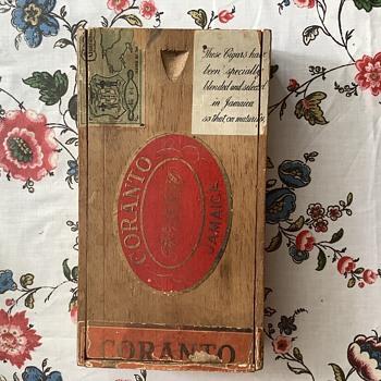 Coranto Jamaica cigar box  - Tobacciana