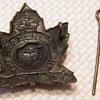 WWII Perth Regiment Cap Badge
