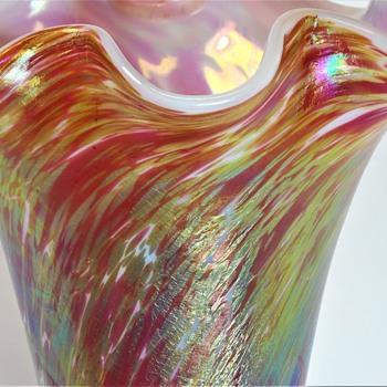 Colossal Fritz Heckert/Otto Thamm, Red Marmopal. 1900 - Art Glass