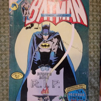 Spanish Batman Comic