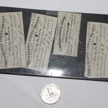 Confederate Bonds? - Military and Wartime