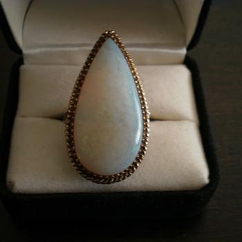 Opal ring...  - Fine Jewelry