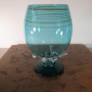 Chuck Simpson Beer Glass  - Art Glass