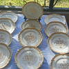 12 Piece William Lycett China Atlanta Ga Dinner Plates