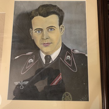 My prized military possession  - Fine Art