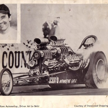The Odd Couple and Freight Train AA/Gas Dragsters