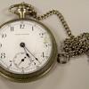 SETH THOMAS Silver Pocket Watch ( Help)