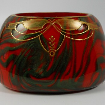 Art Nouveau Harrach Formos Vase, Early 1900 - Art Glass