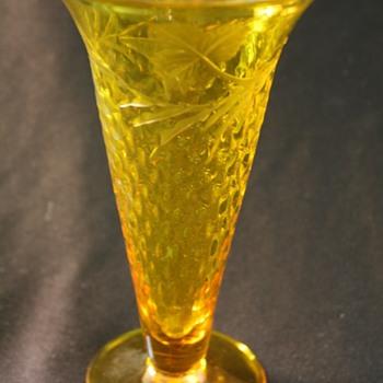 Pairpoint Brandy/ Soda Glass