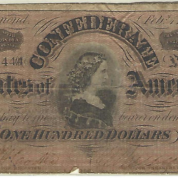 Confederate bill feedback - US Paper Money