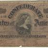 Confederate bill feedback