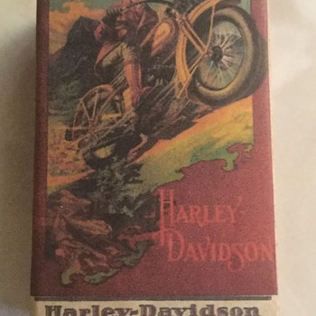 Harley Davidson Matches - Motorcycles