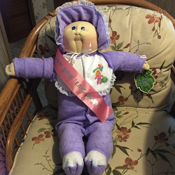 1981 New Years cabbage patch doll from babylandgeneral hospital - Dolls