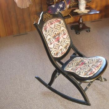 Bicentennial Rocking Chair 1776-1976