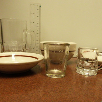 Cleveland Ohio Resturants Items 50's - China and Dinnerware