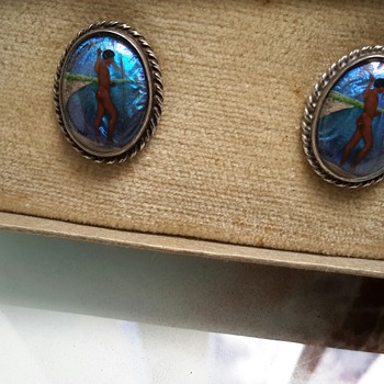 Butterfly wing earrings and brooch to add to the collection - Fine Jewelry