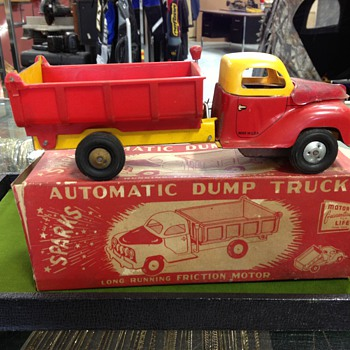 Automatic Toy Dump Truck
