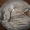 Wall Plates - Look like a Currier and Ives scene