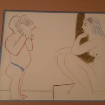 2 Picasso lithographs - Fine Art