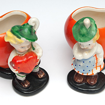 Vintage porcelain figurines pre war Germany  - Figurines