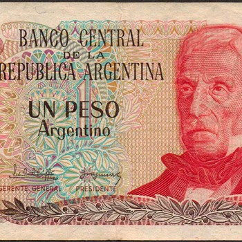 Argentina - (1) Peso Bank Note