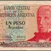 Argentina - (1) Peso Bank Note