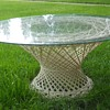 LOOKIE --- Another RUSSELL WOODARD Spun Fiberglass table