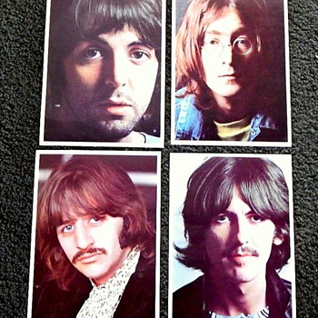 Beatles Promo Pics from the White Album - Photographs