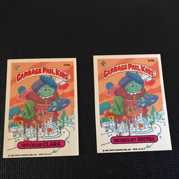 Vintage Garbage Pail Kids Cards - Cards