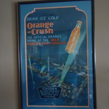 Orange Crush, 1933 worlds fair stand-up