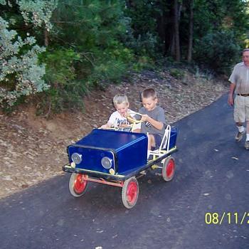 1960'S  Pedal Car  - Toys