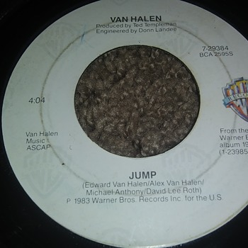 Van Halen...On 45 RPM Vinyl - Records