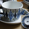 Mystery Arabia cup and saucer