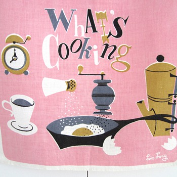 Tea Towel Time - Mid-Century Modern