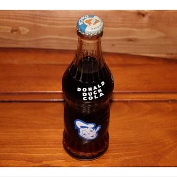 1950s Donald Duck soda  - Bottles