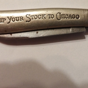 The Chicago Live Stock Exchange Jack Knife - Tools and Hardware