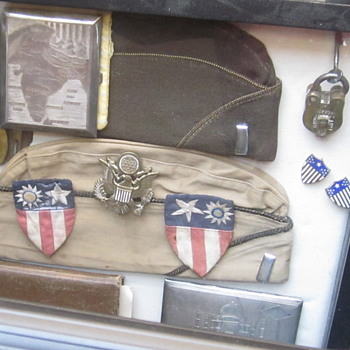 Keepsakes from India, World War II - Military and Wartime