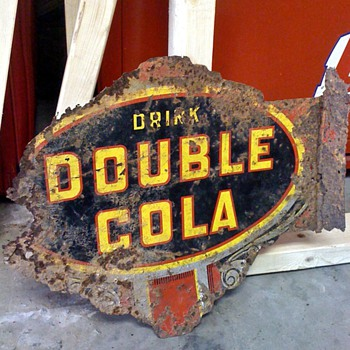 Double Cola Sign - Advertising