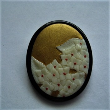 Cameo brooch pendant - Fine Jewelry