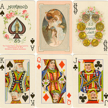 Norwood 85 c.1909. United States Playing Card Company - Cards