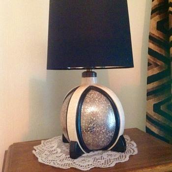 Art Deco lamp base by Charles Harva - Art Deco